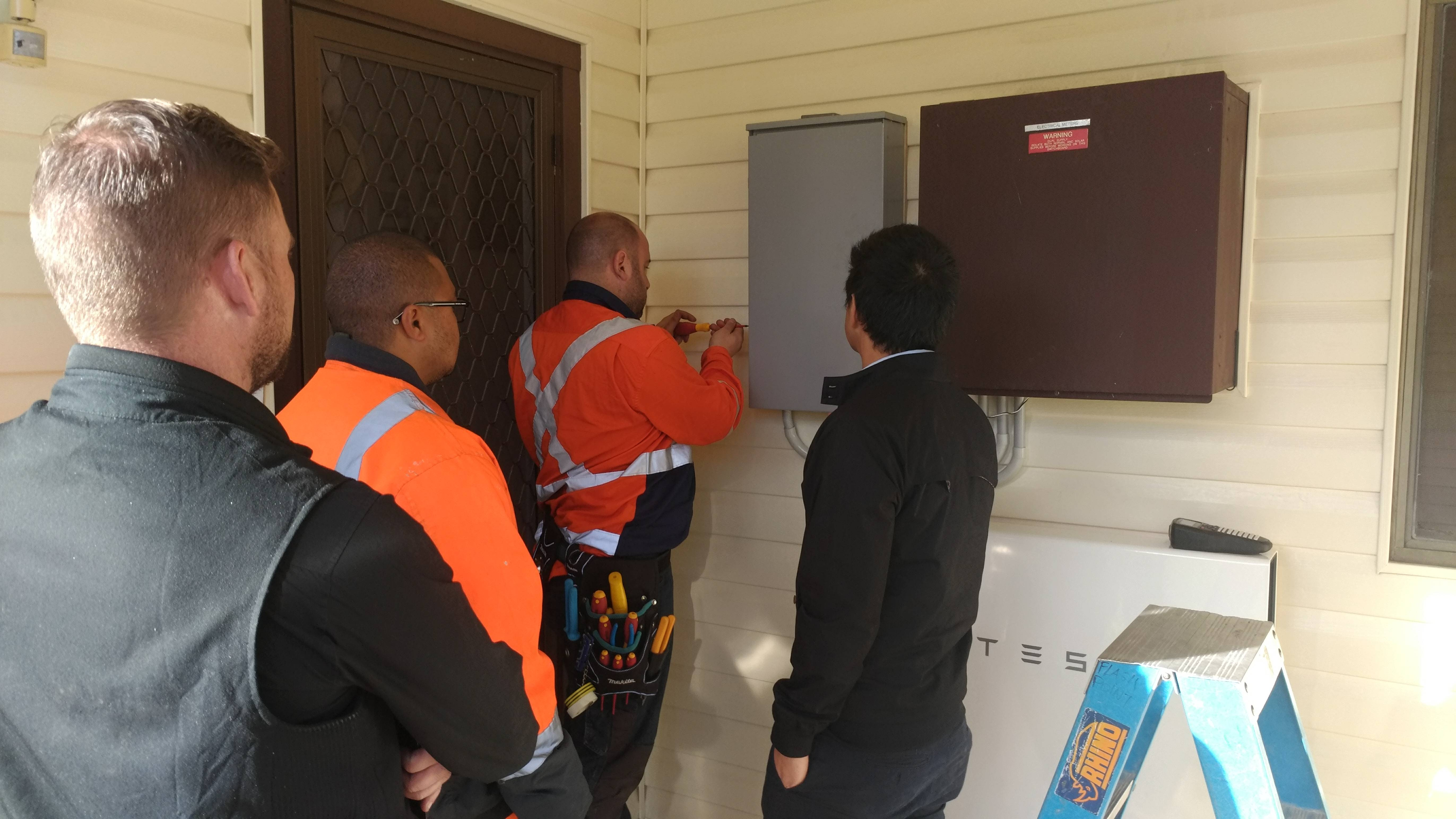 Australian Tesla Powerwall 2 Review Mikesgear If You Run Out Of Room On The Starter Relay Quotbquot Post Install A Power It Isolates Itself From Grid When Fails So Solar System Stays Up To Charge Battery And Home Goes Down