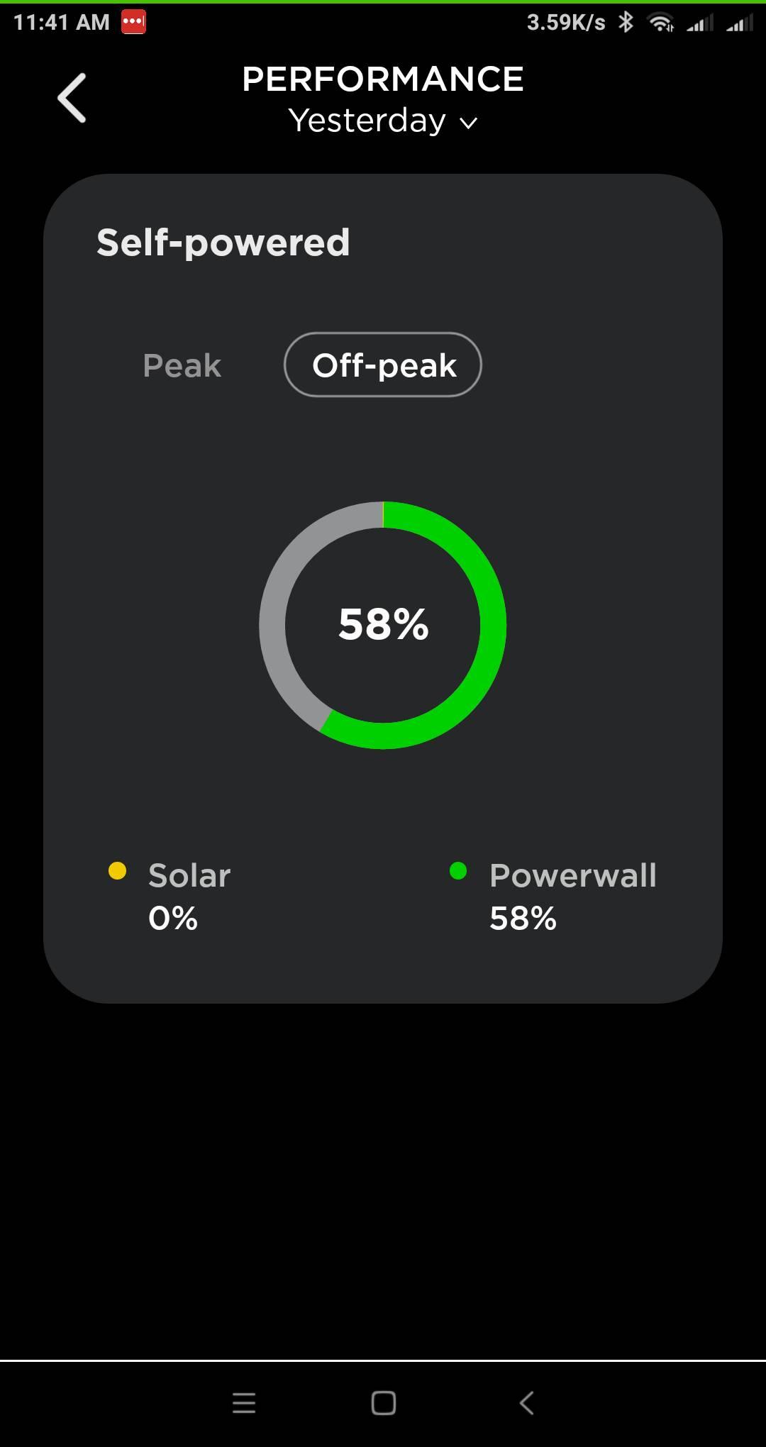 tesla powerwall app